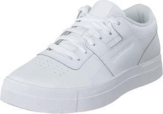 Reebok Classic Workout Lo Fvs Basic White/skull Gre, Sko, Sneakers og Treningssko, Lave Sneakers, Hvit, Dame, 41