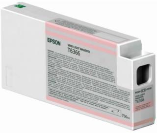 Epson T6366 Blekkpatron lys magenta, 700 ml T6366 Tilsvarer: N/A Epson