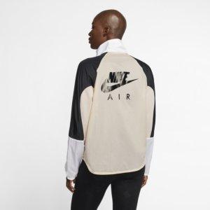 Nike Air løpejakke med hel glidelås til dame - Brown S