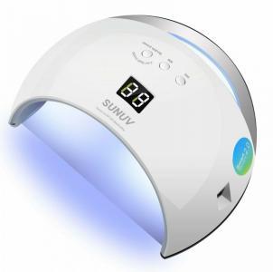 SUNUV SUN6 DUAL LED lampe 48 Watt - UV-Gel, Gellack og LED