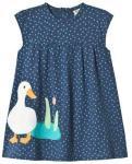 Frugi Little Lola Dress Marine Blue 3-6 months