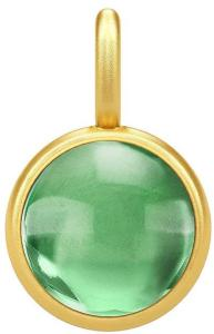 Julie Sandlau Primini Pendat - Gold/Green Halskjede Anheng Grønn Julie Sandlau Women