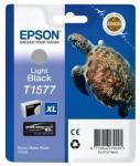 Epson T1577 Lys Sort 25ml Epson Stylus Photo R3000