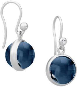 Julie Sandlau Prime Earring - Silver Øredobber Smykker Blå Julie Sandlau Women