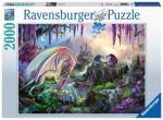 Dragon Valley 2000 biter Puslespill Ravensburger Puzzle