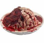 0 Latex Hjerne på fat - 3 pk