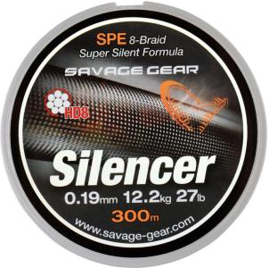 Savage Gear Sg Hd8 Silencer Braid 120m Dark Moss Green 0.35mm 80lbs 36,3kg