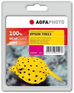 AGFAPHOTO 17 ml - magenta - blekkpatron (alternativ for: Epson T0613, Epson C13T06134010) - for Epson Stylus D68, D88, DX3800, DX3850, DX4200, DX4250, DX4800, DX4850 (APET061MD)
