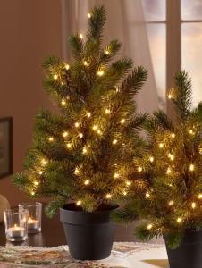 Globen Lighting LED-juletre Globen Lighting grønn