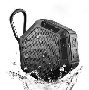 Bluetooth Høyttaler vanntett Hexagon svart