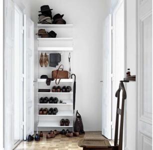 Garderobesystem Hvit XL String