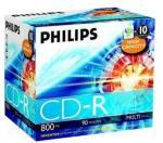 Philips 10 x CD-R - 800 MB (90min) (CR8D8NJ10/00)