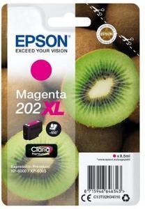 Epson 202XL - XL - magenta - original - blækpatron - Blekkpatron Rød C13T02H34010