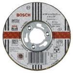 Abrasiv kappeskive Bosch A 46 R BF 100x1,2 mm til slipemaskin GWS 14,4 V