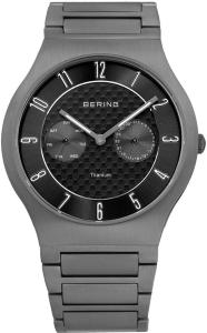Bering 11939-777 Titanium Grå/Titan Ø39 mm