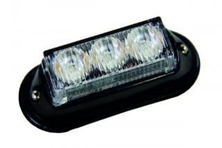 Strands LED blinklys godkjent oransje 12-24v