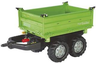 Rolly Toys Rollymega Grønn trailer