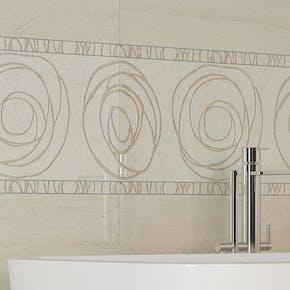 Flis Hill Ceramic Orion Dekor Beige 30x60