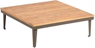 Kave Home Sofabord Pascale 90 x 90 cm Unisex Naturfarget