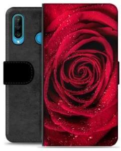 Huawei P30 Lite Premium Lommebok-deksel - Rose