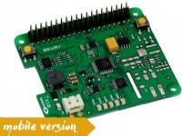 Olmatic S.USV pi basic mobile, Power module, Raspberry Pi, Raspberry Pi, Grønn, 65 mm, 56,5 mm