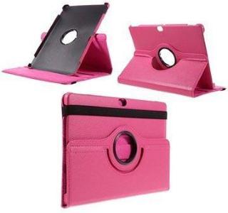 Huawei MediaPad M2 10.0 Roterende Deksel - Varm Rosa
