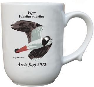 Vipe krus Årets fugl 2012