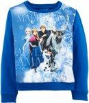 Disney Sweatshirt Frozen Women Blå