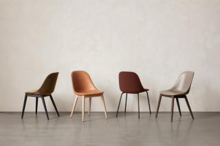 NORR11 Elephant chair natural oakvintage leather camel