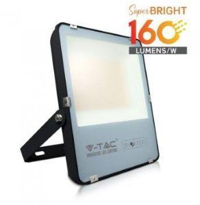 V-Tac 200W LED lyskaster - 160LM/W, arbeidslampe, utendørs - Kulør : Nøytral, Dimbar : Ikke dimbar, Farge på huset : Svart