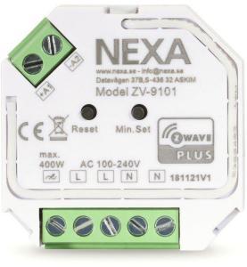 Nexa Innfelt Z-wave-dimmermottaker 400 W