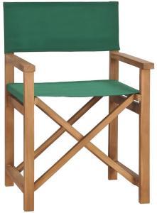 Regissørstol heltre teak grønn - Grønn