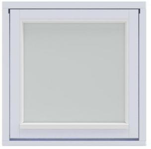 Harmonie topphengslet vindu 59x59 cm 59x59 cm Harmonie