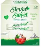SteviaSweet Crystal Sticks 100 x 2 g - 200 G