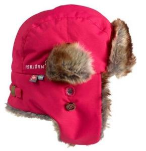 Isbjörn Squirrel Winter Cap Hibiskus (#F92363) 48/50cm
