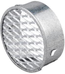 Duka lufteventil - Ø 76 mm, galvanisert