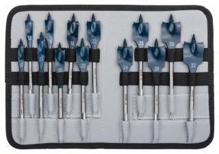 Flatborsett for tre Bosch 2608587010 10-32 mm 13 stk