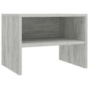Nattbord 40x30x30 cm sponplate - Betonggrå