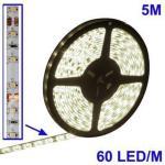 Epoxy vanntett varm hvit LED 3528 SMD Rope Light, 60 LED/M, Length: 5M