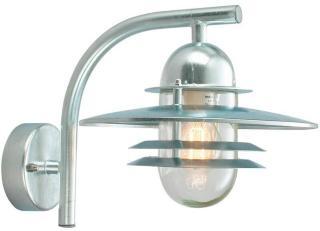 Oslo Utendørs Vegglampe Galvanisert - Norlys