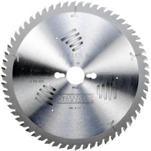 Sagblad for tre DeWalt 250x3x30,0 mm Z60 10°