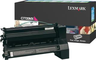 Lexmark Toner Sort C7720KX Ekstra Høykapasitet (15.000 sider) 00C7720KX