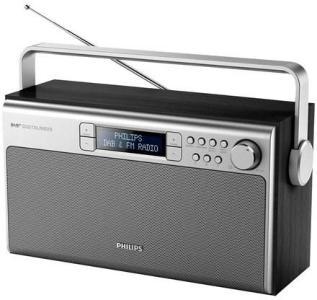 Philips Bærbar radio AE5220B - DAB portable radio - Mono - Sølv AE5220B/12
