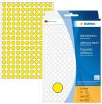 Herma Etikett Vario gul Ø 8mm 4008705022118 (Kan sendes i brev)