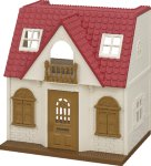 Sylvanian Families - Red Roof Cosy Cottage (5303) Beige and Red  AC3QX6