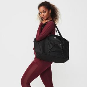 Active Tote Bag, Black OS