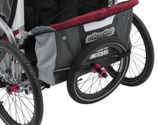 Thule Chariot CX1 Reisebag Burgunder/Sølv, 09-11 mod