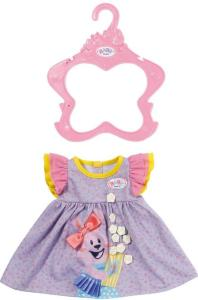 BABY Born lilla kjole med puffermer til dukke 43 cm
