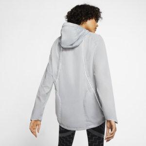Nike Shield løpejakke til dame - Grey S