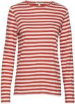 DAGMAR Stripie T-shirts & Tops Long-sleeved Rød DAGMAR Women